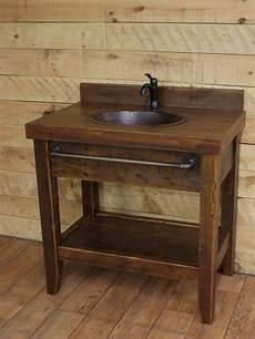 waschtisch holz landhausstil reclaimed wood rustic bathroom vanities