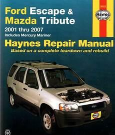 service repair manual free download 2000 ford escape engine control ford escape repair service manual zofti free downloads