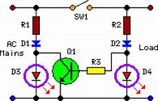 how to build two led pilot light circuit diagram