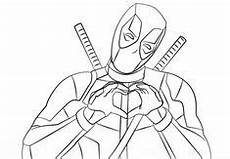 deadpool ausmalbilder 1ausmalbilder superhelden