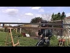 Comment Construire Une Pergola En M 233 Tal 233 Pisode 2