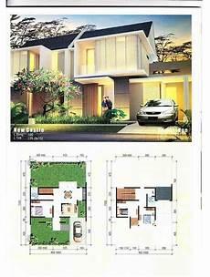 55 Denah Rumah Minimalis 2 Lantai Dengan Kolam Renang