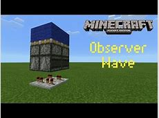 when were observers added to minecraft