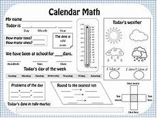 calendar math journal weather worksheets and graphs by