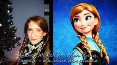 Disney Make Up Hair Frozen La Reine Des Neiges