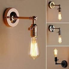 pathson minimalist single socket light wall sconce lighting with off switch ebay