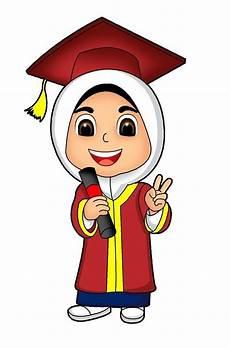 Kartun Muslimah No Selfie Kartun Ilustrasi Karakter Gambar