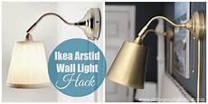 shine your light ikea wall light hack