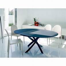 table sejour design table design bontempi ronde mod 232 le barone fixe ou allonges