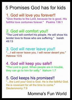 teaching the promises of god to kids bible for kids bible study for kids