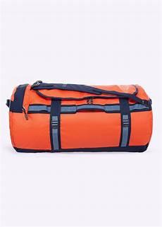 the large base c duffel bag acrylic orange