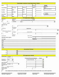 pts fleetride monthly interivew sheet