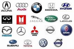 Collection Of Most Reliable Top Cars Brand Logos And Names
