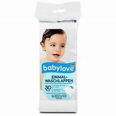babylove einmal waschlappen waschen shoo im dm