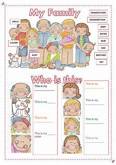 family worksheets free 18612 my family interactive worksheet