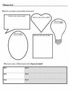page 1 go character analysis character analysis reading graphic organizers teaching reading