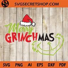 merry grinchmas svg funny christmas the grinch svg svg secret shop