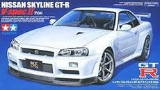 nissan skyline gt r v spec ii r34 model car