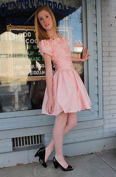 1980s skirts and hairstyles 80s prom dress mini party bubble skirt pink ruched medium m short sleeve off the shoulders