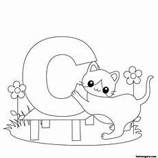 animal letter worksheets 13939 printable animal alphabet worksheets letter c for cat