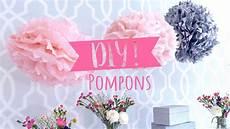 pompoms selber basteln tuto pompon simple et rapide diy westwing