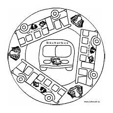 Malvorlagen Kinder Fahrzeuge Mandalas Transportes Mandalas Kinder Basteln Mit