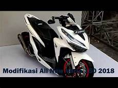 Modifikasi Vario 150 Silver 2018 by Modifikasi All New Honda Vario 150 2018