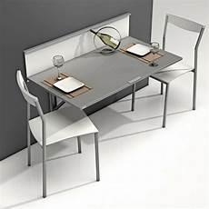 table qui se replie contre le mur table murale pour une cuisine plus sympa