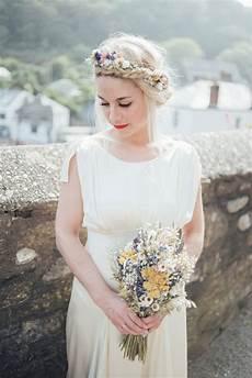 Blumen Im Haar Hochzeit - festival meadow dried flower hair crown standesamt