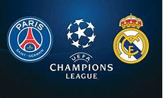 Uefa Psg To Real Madrid In Of 16 Premium