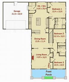 bungalow house plans with attached garage craftsman bungalow with attached garage 50133ph