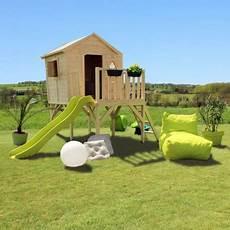 Cabane Pour Enfants En Bois Sur Pilotis Morgane