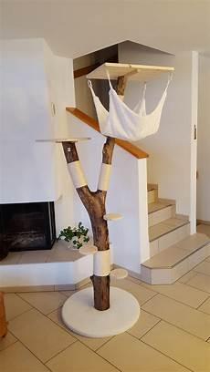 Kratzbaum Selber Bauen Natur - diy cat tree using real argos diy cat tree using real