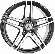 mercedes felgen 18 zoll mercedes 18 inch gunmetal amg wheels type mbz 987 gmt