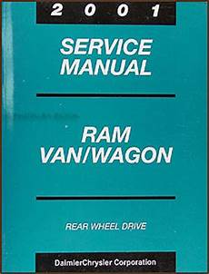 free car repair manuals 2001 dodge ram van 2500 lane departure warning 2001 dodge ram van and wagon shop manual b1500 b2500 b3500 repair full size rwd ebay
