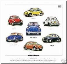 volkswagen print vw beetle models 1967 80 1302s ebay
