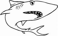 ausmalbilder zum ausdrucken gratis malvorlagen haifisch 1