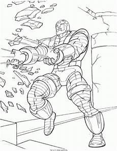 ausmalbild superhelden iron ausmalbilder1001 de
