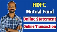 hdfc mutual fund id create hdfc mutual fund id for online