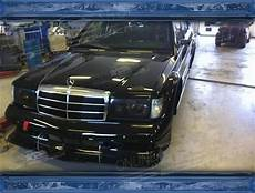 w201 evo 2 mercedes 190e w201 evo 2 style wide kit black