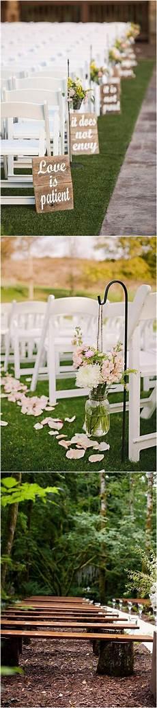 25 rustic outdoor wedding ceremony decorations ideas cool weddings wedding wedding ceremony