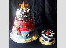 A Western Cowboy Cake   Smash Cake