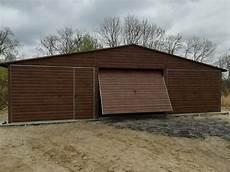garage kaufen in halle 9x6 m fertiggarage in holzoptik garage blechgarage halle lager