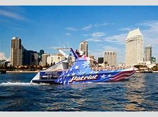 Patriot Jet Boat   San Diego   Flagship Cruises & Events