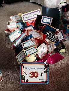 Geschenk 30 Geburtstag - more of the 30th birthday basket 30th birthday gifts for