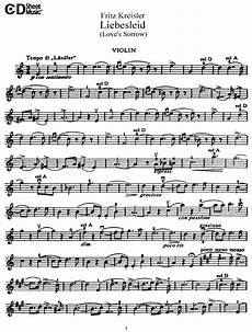 kreisler liebesleid violin solo in 2019 violin violin sheet music violin sheet