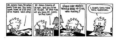 Always And Forever Calvin Hobbes Vs Math Part 3
