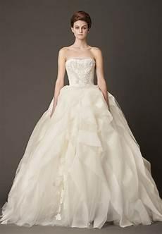 Vera Wang Gown Wedding Dress dressybridal vera wang fall 2013 ruffled wedding gowns