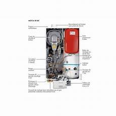 chaudiere gaz condensation chaudi 232 re murales vivadens mcr 24 28 bic plus gaz 224