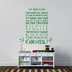 Sticker Citation Les R 232 Gles Du Jeu Stickers Citations